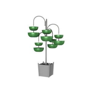 """Цветочные вазоны в виде конструкции """"Мобильное дерево3"""""""
