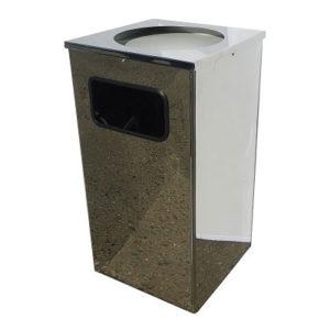 Урна для мусора Квадро-15(хром)
