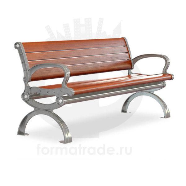 Скамейка алюминиевая «Капитал»
