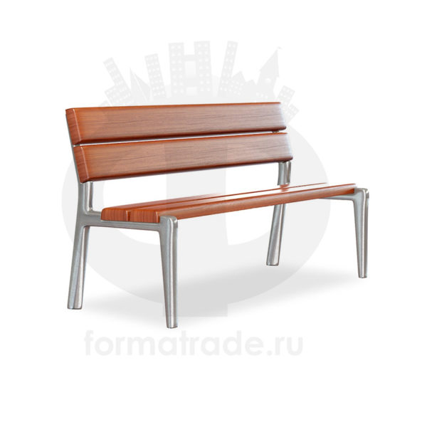 Скамейка алюминиевая «Приора»