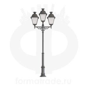 Фонарь уличный «Адмирал-3» со светильниками