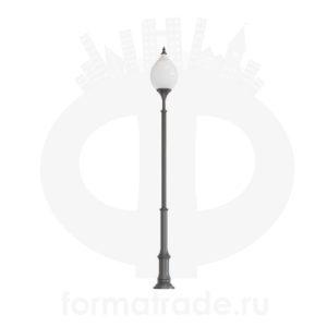 Фонарь уличный «Лотос - 1» со светильником