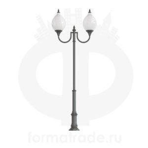 Фонарь уличный «Лотос-2» со светильниками