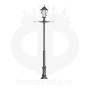Фонарь уличный «Пушкин-1» со светильником
