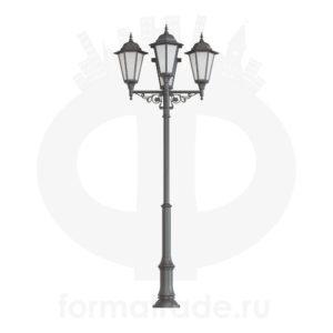 Фонарь уличный «Пушкин-4» со светильникам