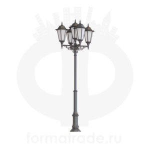 Фонарь уличный «Пушкин-5» со светильниками