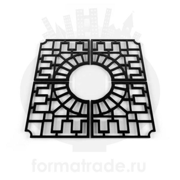 Приствольная решётка (квадратная) Р-08