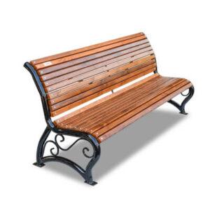 Стальные скамейки