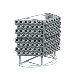 Вазоны для вертикального озеленения на «Пристеной конструкции»