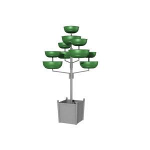"""Конструкция для цветочных вазонов """"Мобильное дерево 1"""""""