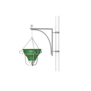 Вазон для цветов на конструкции «Уголок с подставкой»