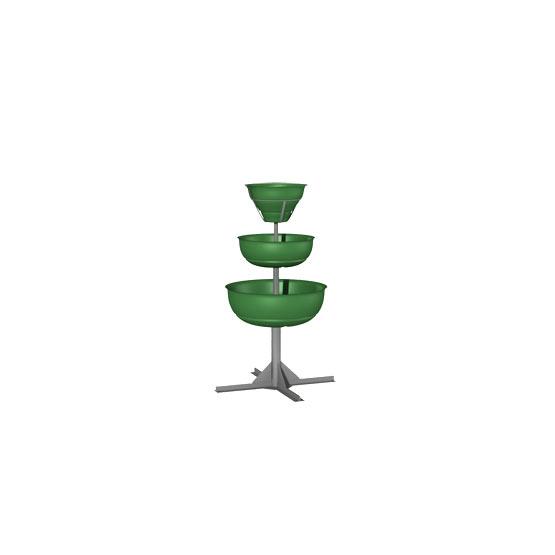 Конструкция из вазонов для цветов «Ёлочка 3»