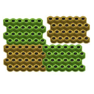 Модуль для вертикального озеленения Живая стена Цвеона24