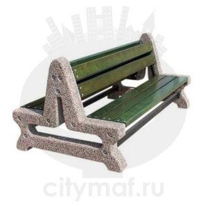 Скамейка бетонная 406