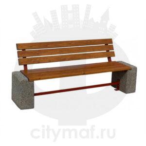 Скамейка бетонная 408