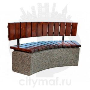 Скамейка бетонная 413