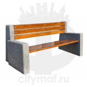 Скамейка бетонная 415