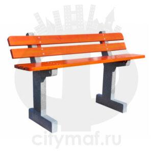 Скамейка бетонная 416