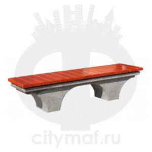 Лавочка бетонная 420