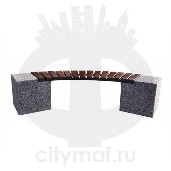 Лавка бетонная 430
