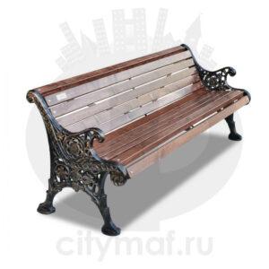 Скамейка чугунная «Ажурная»