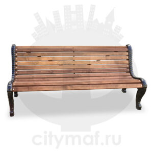 Скамейка чугунная «Дубравушка»