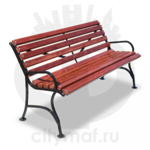Скамейка стальная «Элегант»