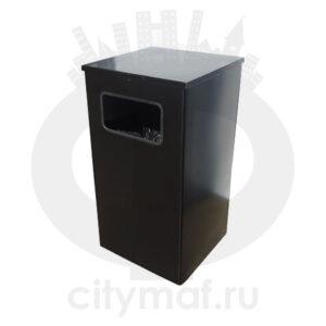 Квадратная урна для мусора Квадро-19