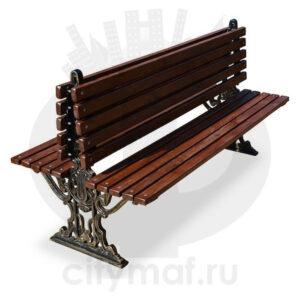 Скамейка парковая «Прага двухсторонняя»