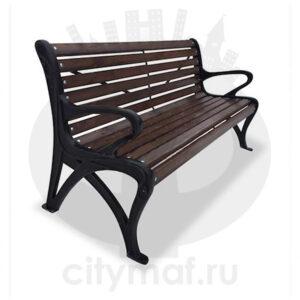 Парковый диван «Роса»