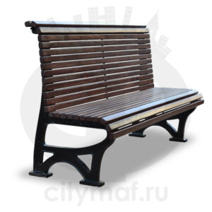 Скамейка парковая «Вокзал»