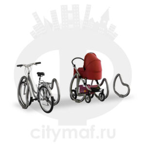 Парковка для колясок и велосипедов 04