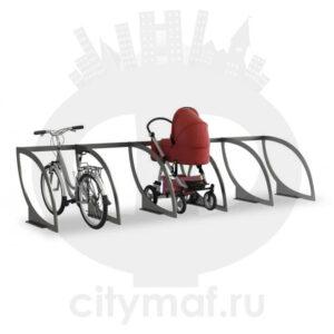 Парковка для колясок и велосипедов 05