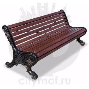 Скамейка чугунная «Ялта»