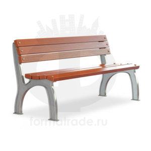 Скамейка алюминиевая «Прокси»