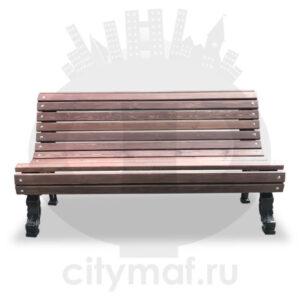 Скамейка чугунная «Романс»