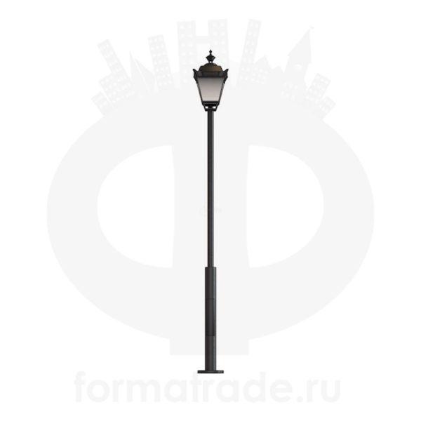 Стальной фонарный столб Ретро
