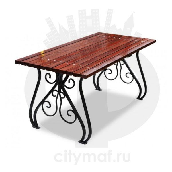 Стол садовый кованый «Вена»