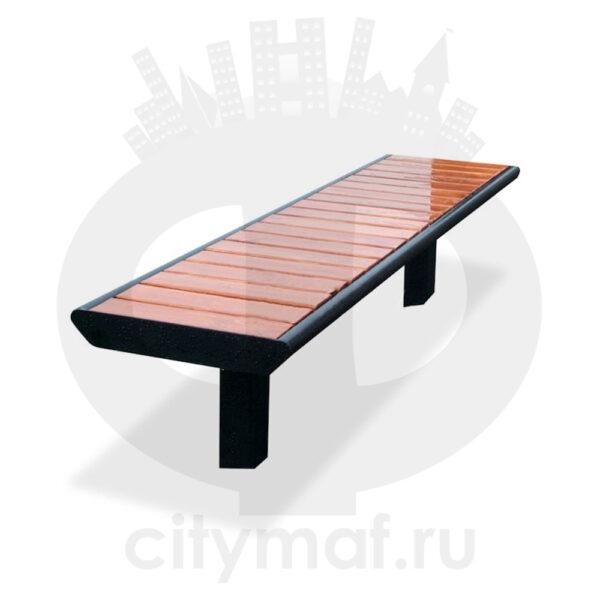 Скамейка уличная без спинки «Поло»