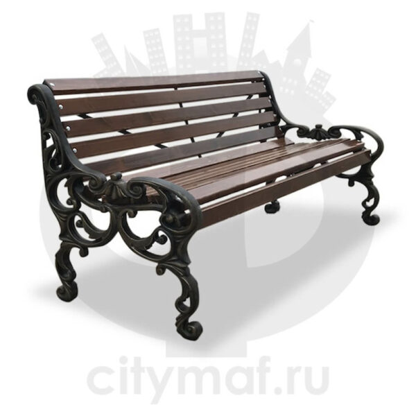 Скамейка чугунная «Трон»
