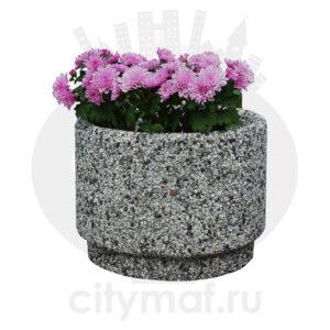 Вазон бетонный Стэп