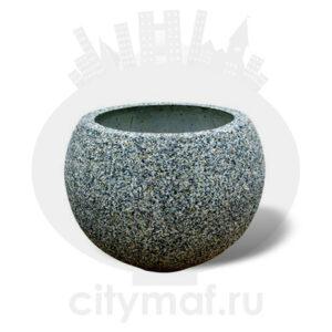 """Вазон бетонный """"Глобус"""""""