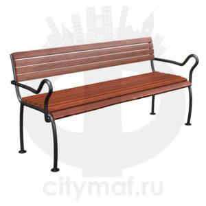 Стальная скамейка «Забота»