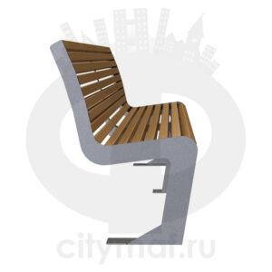 Скамейка стальная «Мадрид»
