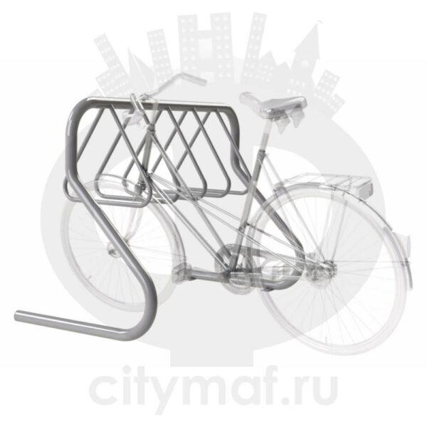 Велопарковка «Бумеранг» на 6 мест