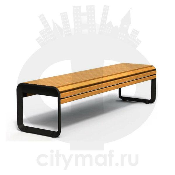 Банкетка чугунная «Варшава»