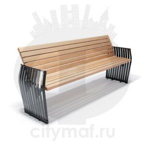 Скамейка уличная «Плума»