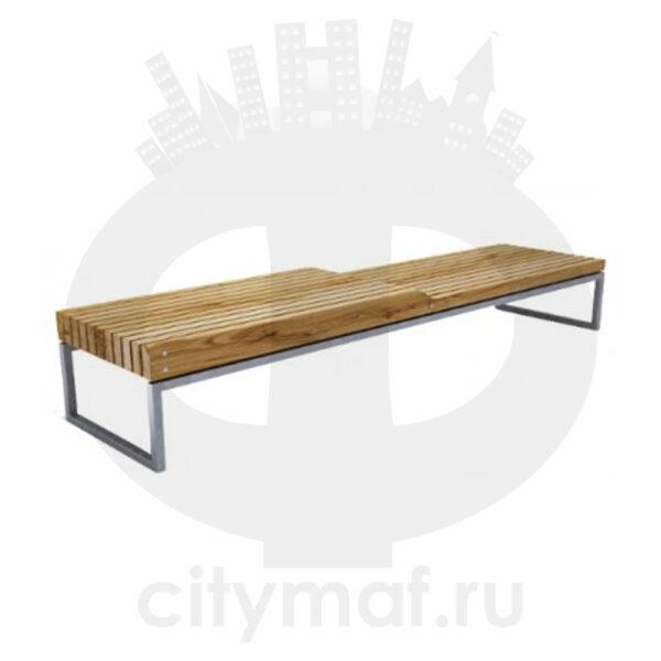 Скамейка стальная «Долиум»