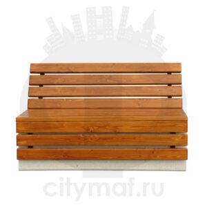 Скамейка бетонная 458