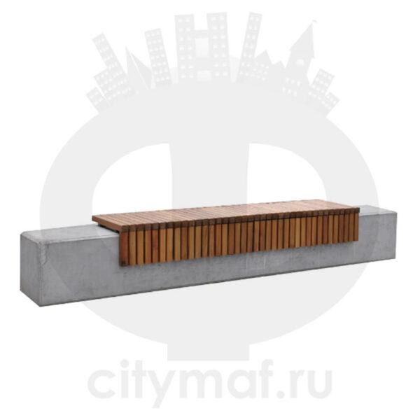 Скамейка бетонная 460
